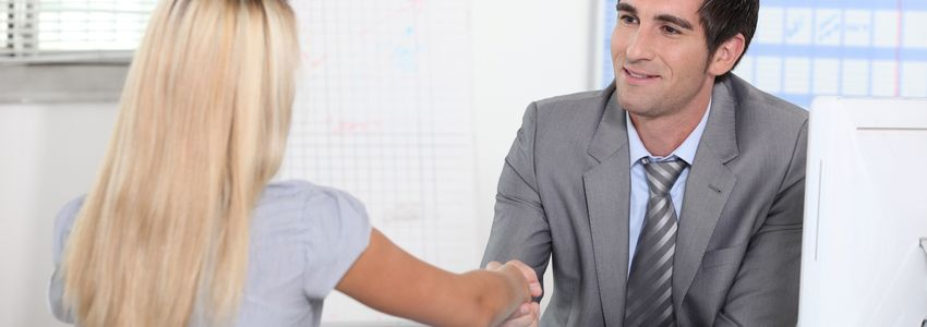 Accounting Careers in Birmingham, Alabama - accountant shaking hands with client